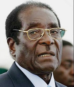 President Mugabe made his attack during his inauguration speech