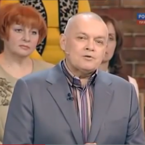 Dmitriy Kiselyov made the comments on the State-funded Russian TV channel