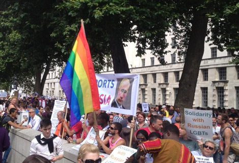 more than a hundred anti- gay