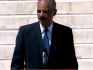 US Attorney General Eric Holder said Martin Luther King's has broadened to include lesbian and gay people.