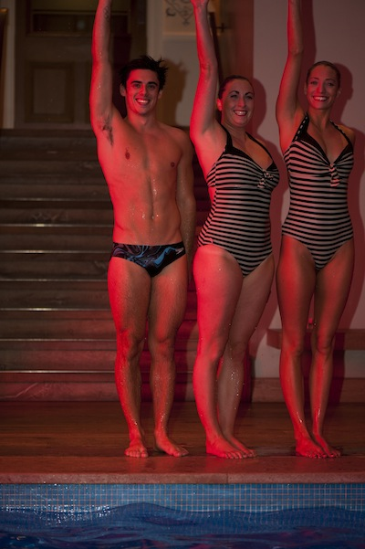 Chris Mears in speedos