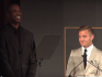 Robbie Rogers and Jason Collins took to the stage to introduce the awards