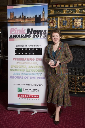 Tina Stowell will appear on the panel for the PinkNews Debate