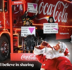 Coca-Cola removed the images which were published on its website