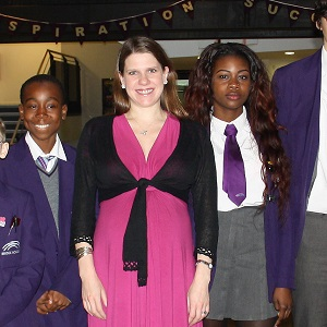 Jo Swinson attended the Bridge Academy last week to announce a new funding initiative to tackle bullying in schools