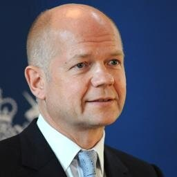 William Hague says he's 'concerned' at developments in Nigeria (Photo: Twitter)