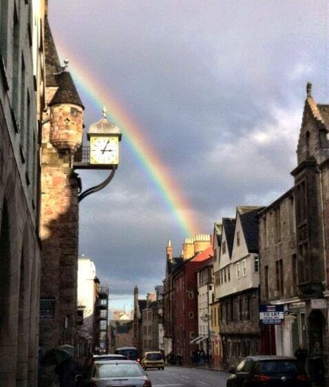 Vote February Room Finalists 2014: Rainbow Appears Over Scottish Parliament Before Equal