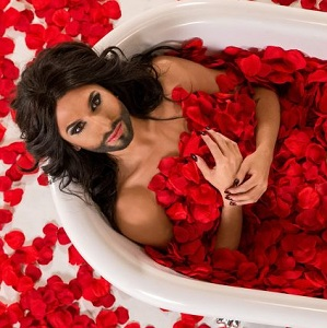Conchita Wurst is set to represent Austria in the contest (Photo: ORF)