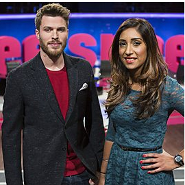 The discussion was dropped from BBC3 panel show 'Free Speech'