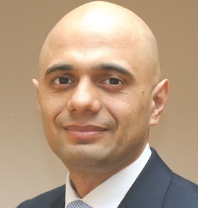 Sajid Javid made the announcement in the Commons