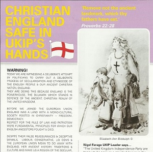One of the leaflets spelt English as 'Englsih'