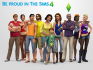 The Sims tells users to 'Be Proud' in its latest instalment