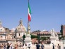 Hundreds of thousands of people reportedly gathered in the Italian capital.