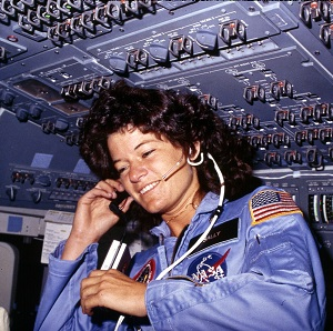 Sally Ride hid her sexuality over fears it would hurt her professionally