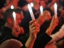 Candlelight vigil held at Melbourne conference for the millions of lives taken by HIV/AIDS.
