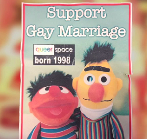 The bakery refused to bake a Sesame Street 'support gay marriage' cake