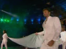 Ian Thorpe carried the Commonwealth flag at the opening ceremony