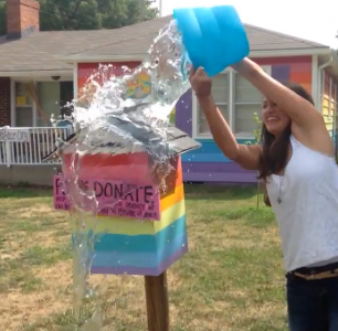 Equality House has released an ALS ice bucket challenge video in response to the Westboro Baptist Church.