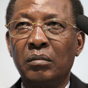 Idriss Deby has been called upon