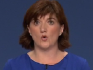Nicky Morgan made the comments at the Tory Party Conference