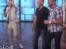 He popped the question in front of Ellen's audience