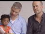 The ad features the gay couple talking about adopting their daughter