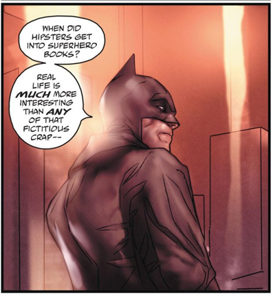 Batman finally asked 'Are you gay'?