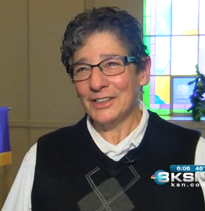 Reverend Jackie Carter is facing death threats every day