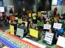 Protesters are occupying Seoul City Hall (Photo: Rainbow Action)