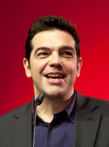 Syriza leader Alexis Tsipras is now Prime Minister