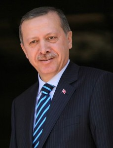 The satirical cartoon showed a person making a mocking hand gesture at President Tayyip Erdogan