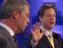 Nick Clegg criticised the intimidation of Nigel Farage's family
