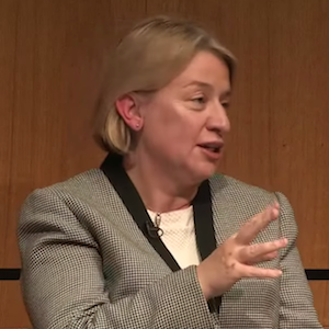 Natalie Bennett set out the party's policy on housing
