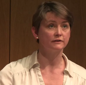 Yvette Cooper announced her candidacy for the Labour leadership