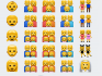 The new range of emoji were included in Apple's new iOS