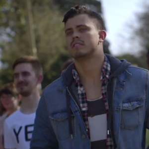 The video features families of LGBT Irish people going to vote