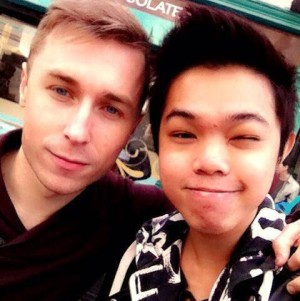 Ian Begley and Eric Wan have been looking for somewhere to live together for two months