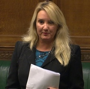 Caroline Dinenage was appointed as Minister for Equalities today