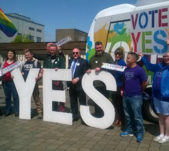 Ireland voted yes to same-sex marriage