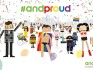 The AndProud parade will take place at the end of this month