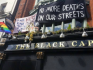 Squatters are currently occupying The Black Cap