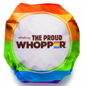 Burger King won the marketing honour for the LGBT-friendly campaign