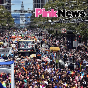 Thousands attended San Francisco Pride (Image: Josh Edelson/Getty Images)
