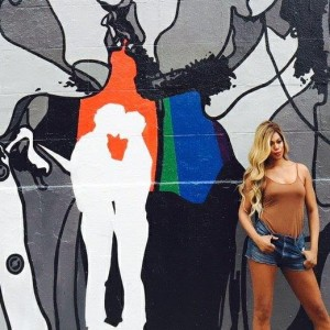 Laverne Cox launched the mural