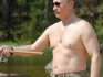 President Putin is renowned for taking his top off in photo shoots