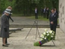 The Queen paid a visit to Bergen-Belsen