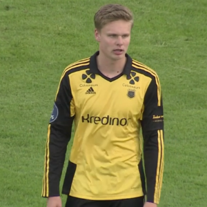 Simen Juklerod was given a red card