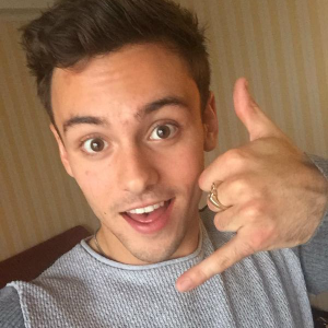 Tom Daley is a supporter of Switchboard