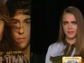 Cara Delevingne was interviewed on US morning television