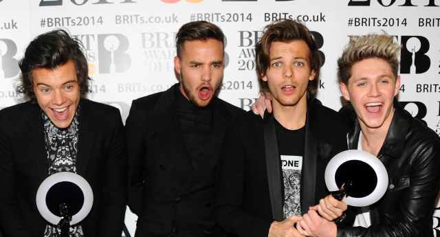 One Direction are officially Britain's gayest band ((Photo by Anthony Harvey/Getty Images)